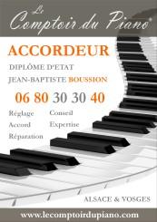 accord, accordeur piano, accorder, transport piano, le comptoir du piano, Jean-Baptiste Boussion
